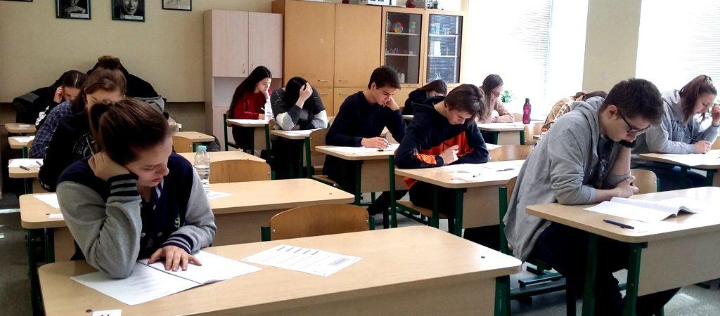 Mokiniai laikė tarptautinį vokiečių kalbos egzaminą DSD 1