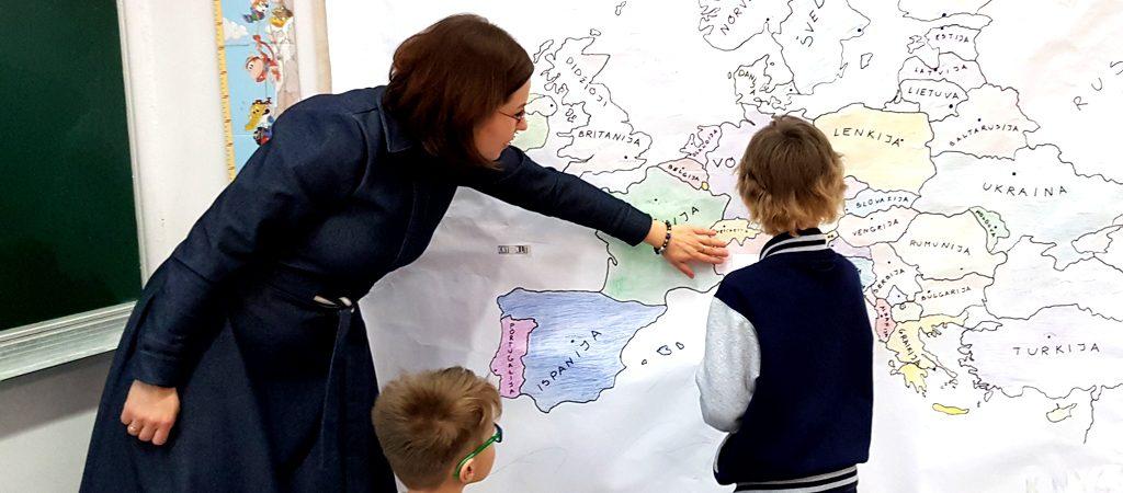 Integruota lietuvių kalbos ir pasaulio pažinimo pamoka