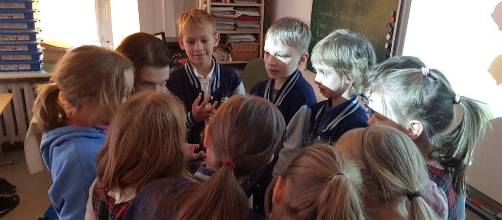 Licėjaus antrokų pamoka su Kimočiais