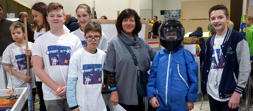 VGTU inžinerijos licėjaus robotikos komandos ROBOTIADOJE 2019
