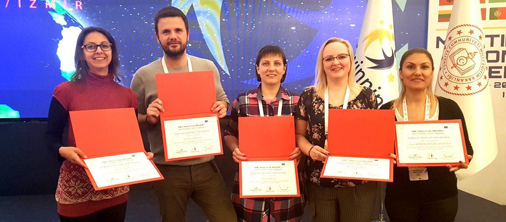 "Tarptautinis eTwinning seminaras ""Multilateral contact seminar"" Izmire"