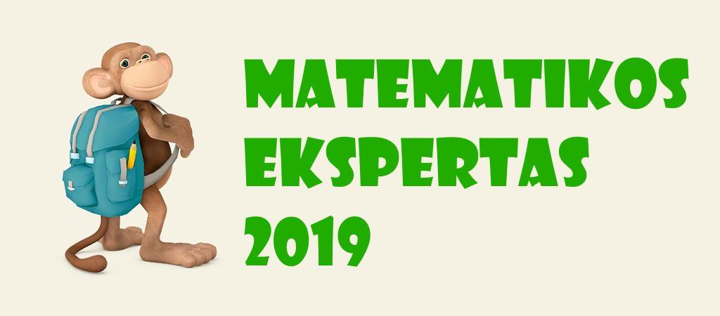 """VGTU inžinerijos licėjaus pradinukai dalyvauja """"Matematikos Ekspertas 2019"""" konkurse"""