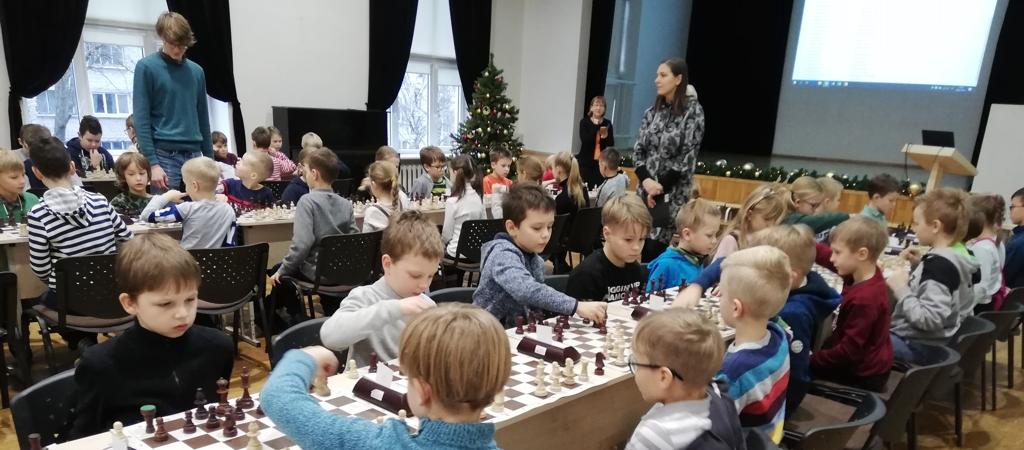 VGTU inžinerijos licėjaus šachmatų žaibo turnyras
