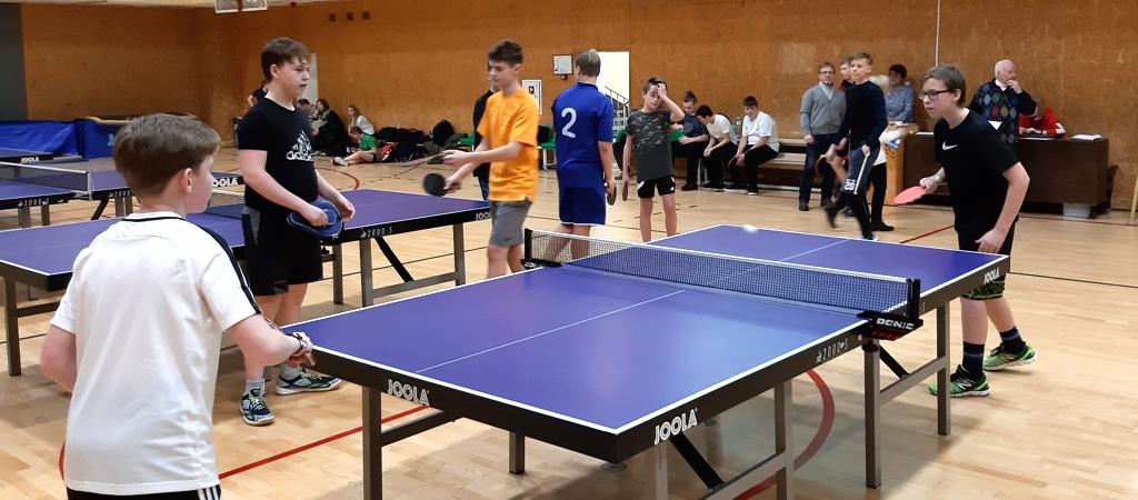 Vilniaus m. mokyklų žaidynių stalo teniso varžybos