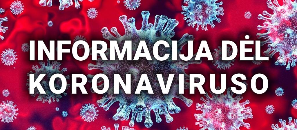 Rekomendacijos dėl koronaviruso profilaktikos (PAPILDYTA)