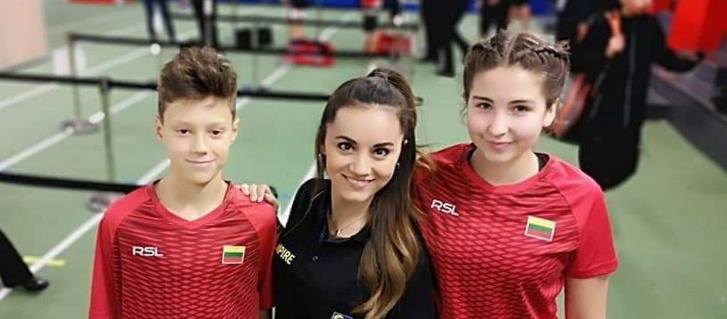 Puikus pasiekimas Europos badmintono čempionate