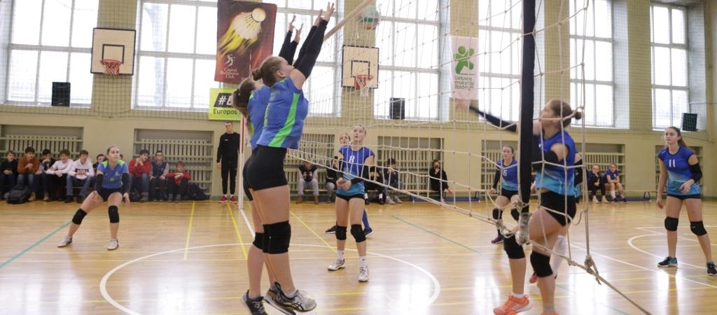 Licėjaus mergaičių tinklinio rinktinės startai tinklinio čempionatuose