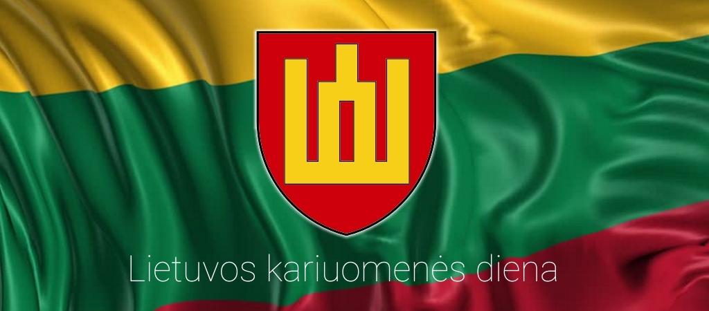 Licėjuje paminėta Lietuvos kariuomenės diena