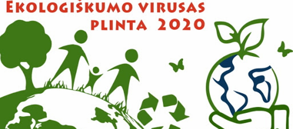 """I-oji vieta konkurse """"Ekologiškumo virusas plinta 2020"""""""
