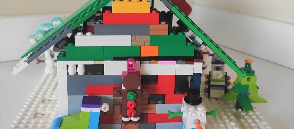 Lego imbieriniai nameliai