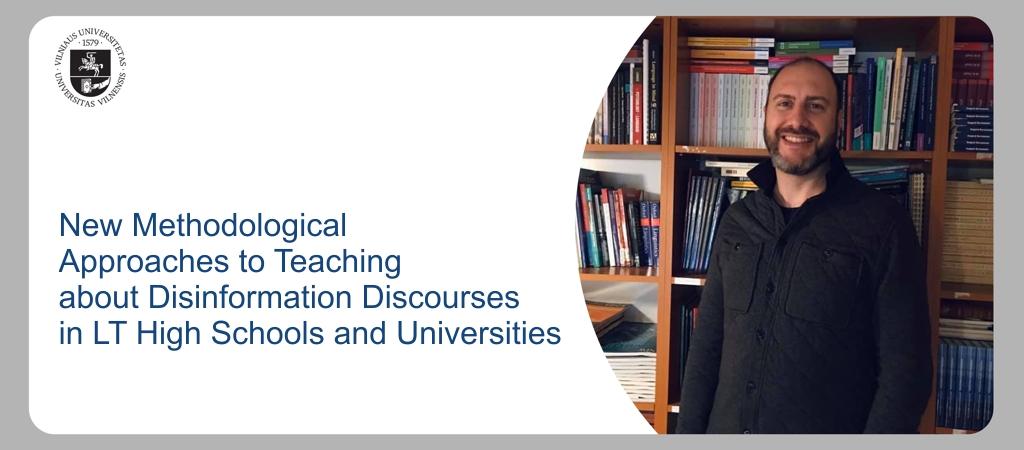 Kviečia Vilniaus universitetas: kaip atpažinti dezinformacijos atvejus?