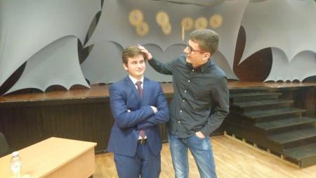 Vilniaus miesto meninio skaitymo konkurso dalyviai