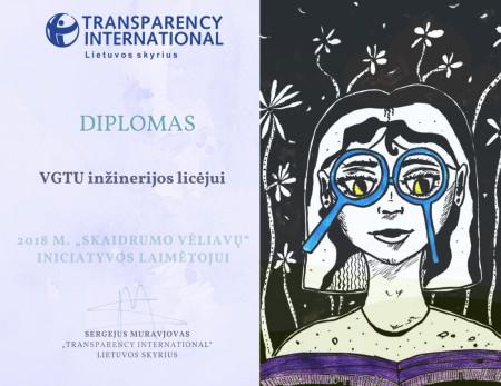 Diplomas VGTU inžinerijos licėjui-1