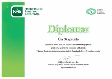 914382711 Diplomas Ūla Skirpstaitė 6-1