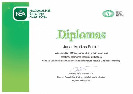 914382711 Diplomas Jonas Markas Pocius 9 (I)-1