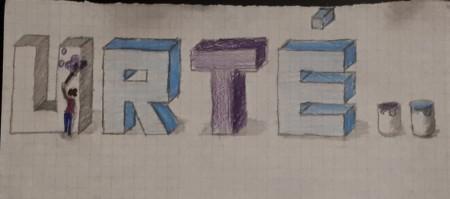 Urtės 3D raidės