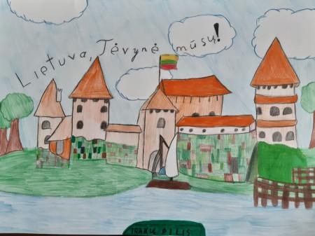Austėjos piešinys