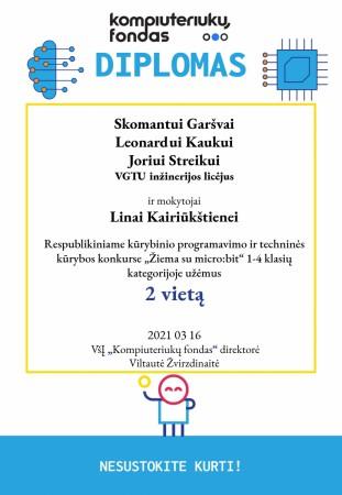 Kompiuteriukų fondas II vietos Diplomas-page-001