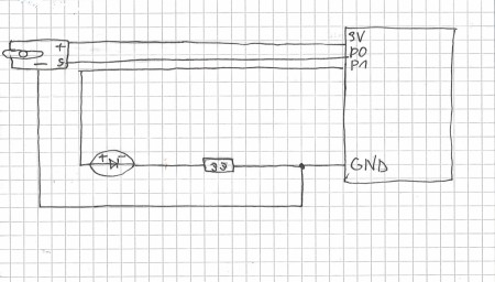 VGTU inžinerijos licėjus el.grandinės schema - projektas Snaigės